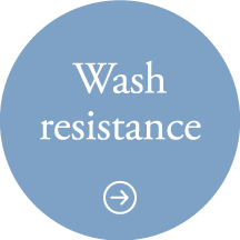 Wash resistance