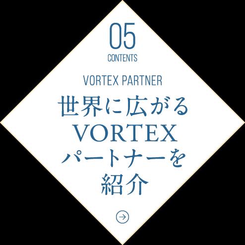 世界に拡がるVORTEXパートナーを紹介